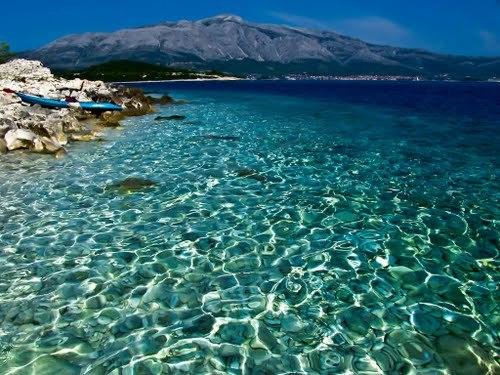 Dalmácie - ubytování na pláži do 80m od moře.